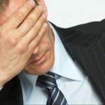 Chyby při hledání práce