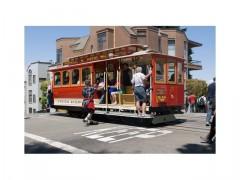 Fotka k inzerátu Jízdenka z městské tramvaje ze San Franciska, USA / 3062452