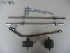 Fotka k inzerátu Silentbloky trubičky na přívod nafty ke vstřikovacímu čerpadlu traktor Zetor / 11756604