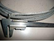 Fotka k inzerátu Ocelová lana, lanka / 11080207